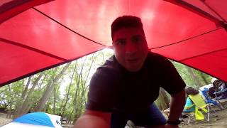 Going camping/Kayak Morris Illinois/Something scary happened