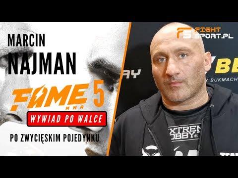 MARCIN NAJMAN: NIE CHCIAEM  BONUSOWI ZROBI KRZYWDY, POMYLIEM SI CO DO FAME MMA