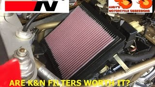 k air filters do they work are they worth it