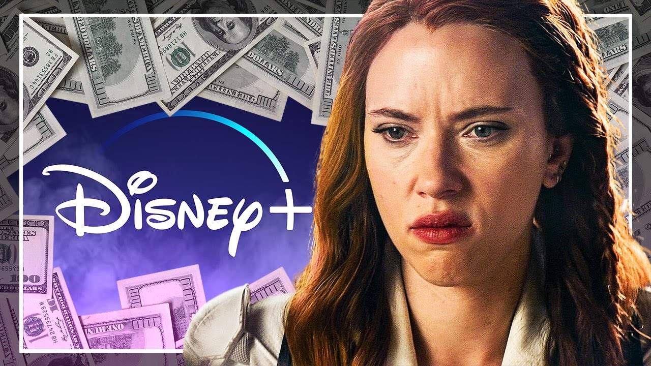 🔥BLACK WIDOW: MONEY WAR🔥 ¿Por qué Scarlett Johansson ha DEMANDADO a Disney?