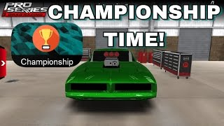 CHAMPIONSHIP TIME!   Pro Series Drag Racing