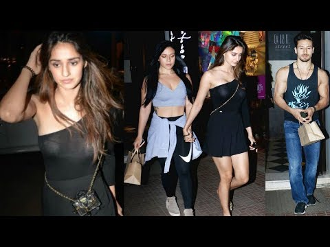Disha Patani Looks Stunning On Dinner Date With Tiger Shroff & Krishna Shroff Mp3