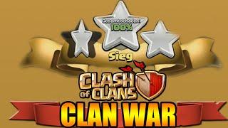 LIVE CLAN WAR ACTION ★ WIEDER NUR AM RASIEREN MIT 3 STERNEN ★ CLASH OF CLANS ★ Let's Play COC ★
