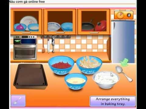 Game nấu cơm - trò chơi nấu món cơm gà thơm ngon - gametreem.com!