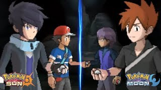 Pokemon Sun and Moon: Alain and Ash Vs Paul and Gary