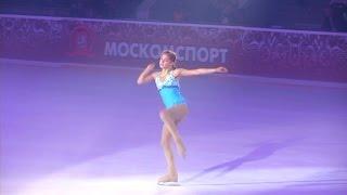 Julia Lipnitskaya - Шоу Олимпийских Чемпионов.Тебе Москва,моя победа!