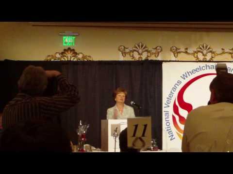 Roberta DeGasperis Sponsorship Dinner Speech
