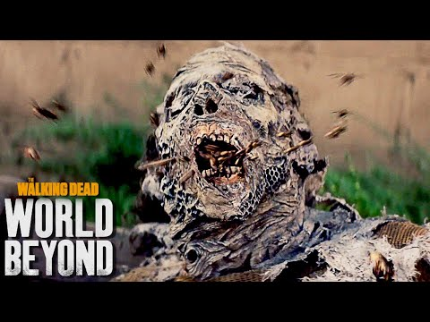 Not The Bees! The Walking Dead World Beyond Trailer