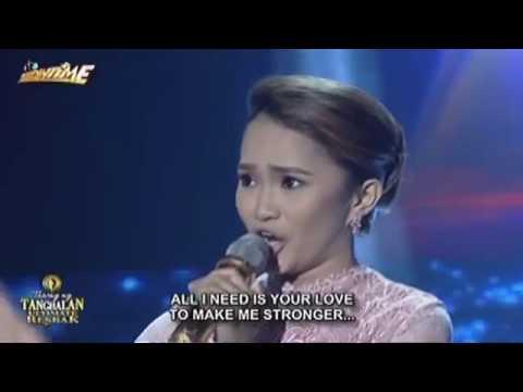 Tawag ng Tanghalan Rachel Gabreza When You Tell Me That You 1