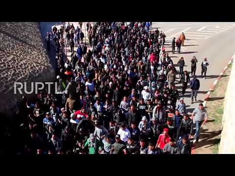 Morocco: Scuffles as protesters demand release of anti-mining activists in Jerada
