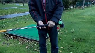 パークゴルフ ツイスト打法 「Park golf twisting method」 飛距離が伸びないとお悩みのパークゴルファーに送る  その打ち方とは ライナー&転がし&ロブショットも打てる・