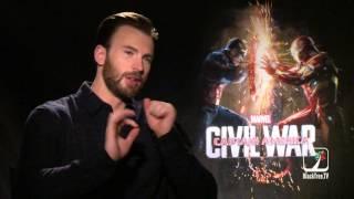 Chris Evans Captain America Civil War Interview on dominating the comic world