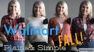 WALMART 2019 FALL HAUL OVER FORTY OUTFITS