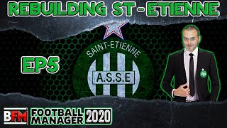 FM20 EP5 Rebuilding Saint Etienne Football Manager 2020