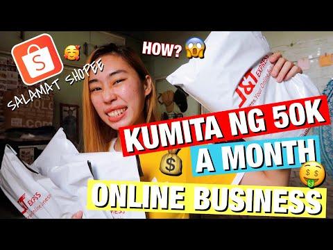 PAANO KUMITA SA SHOPEE | HOW I STARTED MY ONLINE BUSINESS