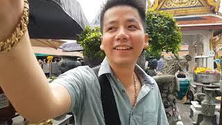 Xâm nhập chợ bùa ngãi u ám lớn nhất Thái Lan và giải mã cung điện hoàng gia toàn vàng nguyên khối