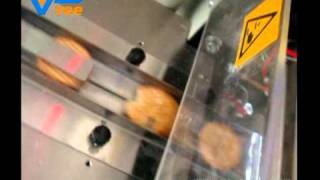 Biscuit pillow packaging machine from Veepack