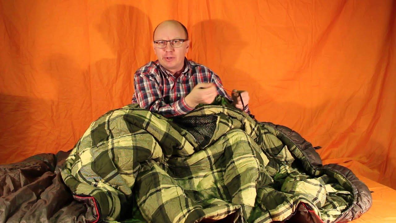 Купить спальный мешок-одеяло alexika