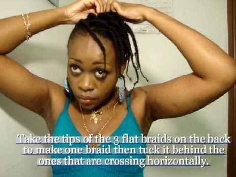 threaded braids. (Hairstyle tutorial)   4c hair thumbnail