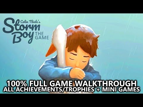 Storm Boy - 100% Full Game Walkthrough - All Achievements/Trophies (EASY 1000 + PLATINUM)