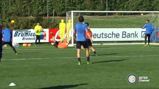 ALLENAMENTO INTER REAL AUDIO 19 10 2015