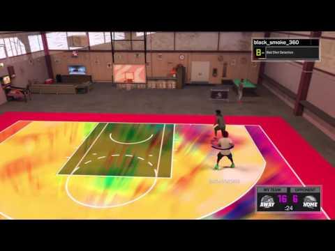 NBA 2K17 MY COURT | BLACKSMOKE V.S FONZY AND TYE TYE
