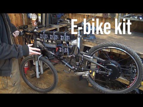 I got an electric bike kit!!
