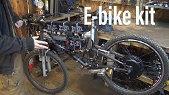 I got an electric bike kit!!