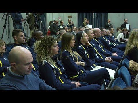 Vatican presents its first official athletics team