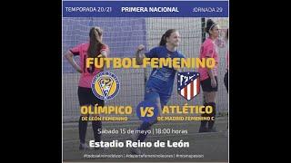 FÚTBOL FEMENINO / OLÍMPIVO VS ATLETICO