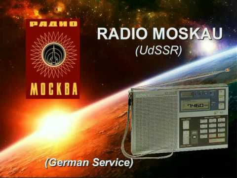 "RADIO INTERVAL SIGNALS - ""Radio Moskau"" (""Радио Москва"") (old)"