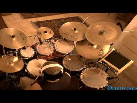 Survivor - Eye Of The Tiger Drum Cover By Drumvisio