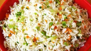 How To Make  at home Veg Fried Rice Chinese Style   वेज फ्राइड राइस   Food Junction Latest 2018