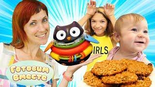 Видео с игрушками для детей. Готовим вкусное печенье для Бьянки
