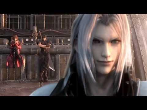Final Fantasy 7 Crisis core: Sephiroth vs Genesis vs Angeal Full Fight HD