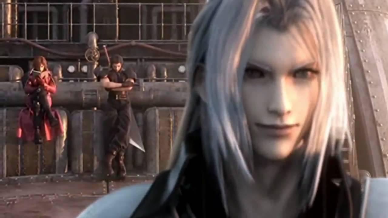 Final Fantasy 7 Crisis Core Sephiroth Vs Genesis Vs Angeal Full Fight Hd