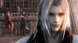 Final Fantasy 7 Crisis core: Sephiroth vs Genesis vs Angeal Full Fight HD thumbnail