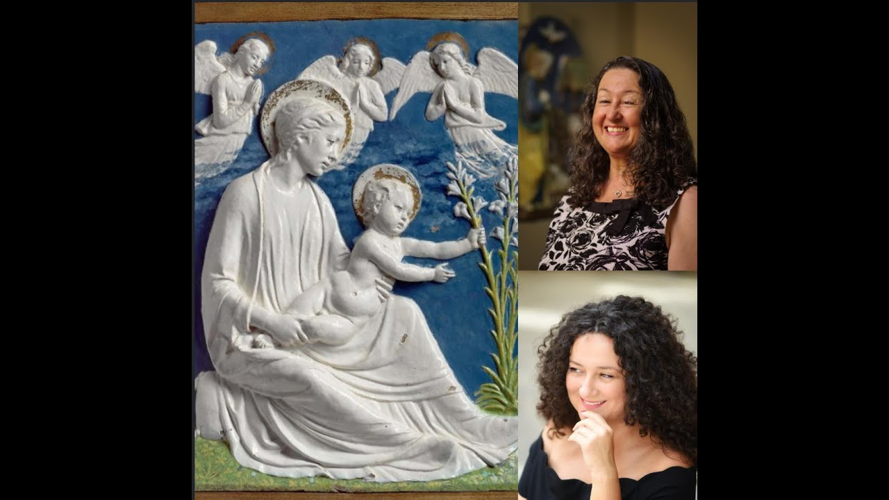 "#12 DELLA ROBBIA SCULPTURE - A RENAISSANCE ""INVENTION"": Conversation with Marietta Cambareri"