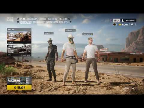 PLAYERS UNKNOWN BATTLEGROUND CONSOLE NEPALI SQUAD Saturday fun
