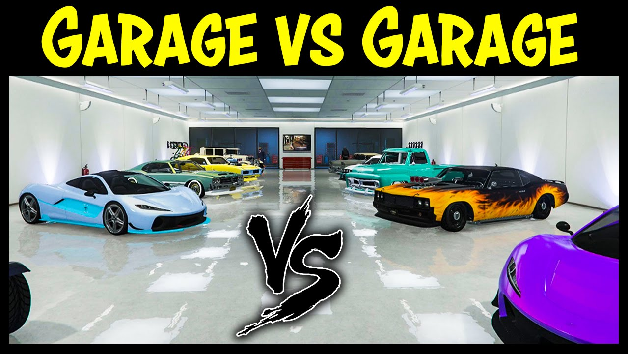 Gta 5 online garage vs garage ep 19 ps4 edition best for Garage best auto