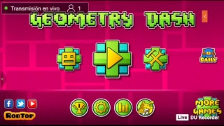 Geometry Dash - Jugando sus niveles 7u7