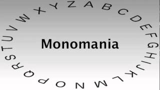 SAT Vocabulary Words and Definitions — Monomania
