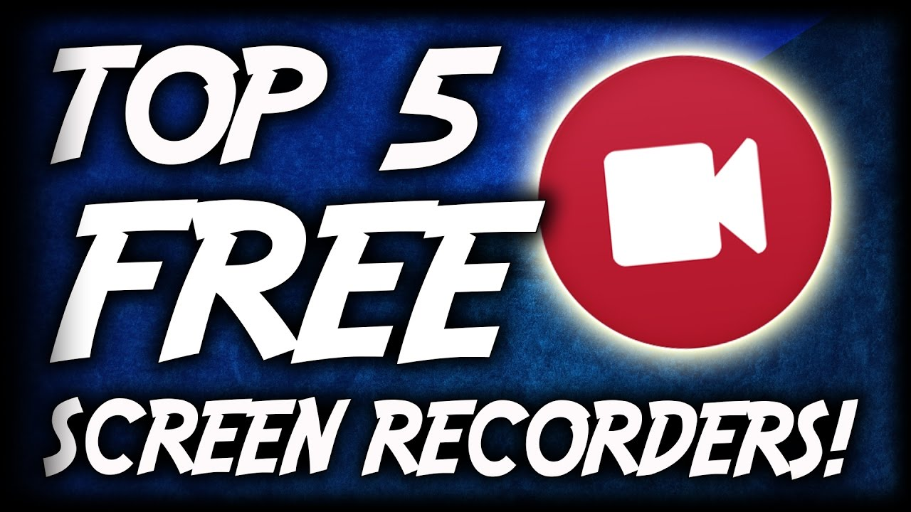 top free screen recording software