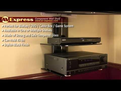 Dvd Wall Mount Component Shelf Av Express Review You