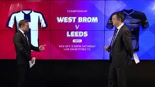 West Brom v Leeds - Match Preview