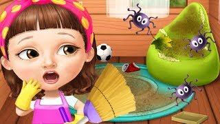 Sweet Baby Girl Cleanup Games - Play House Makeover, Pony Care & BBQ Pool Party Clean Up Games
