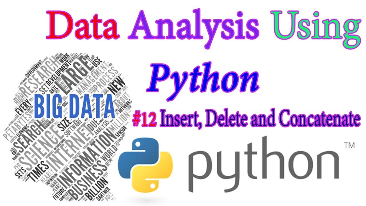 Insert, delete and concatenate numpy arrays - Python Data science In Hindi  #12