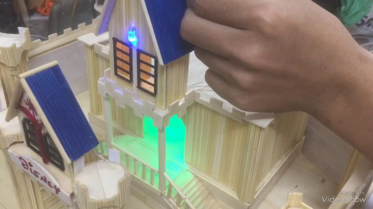 Hướng dẫn lắp đèn Led sử dụng Pin 3V cực đơn giản