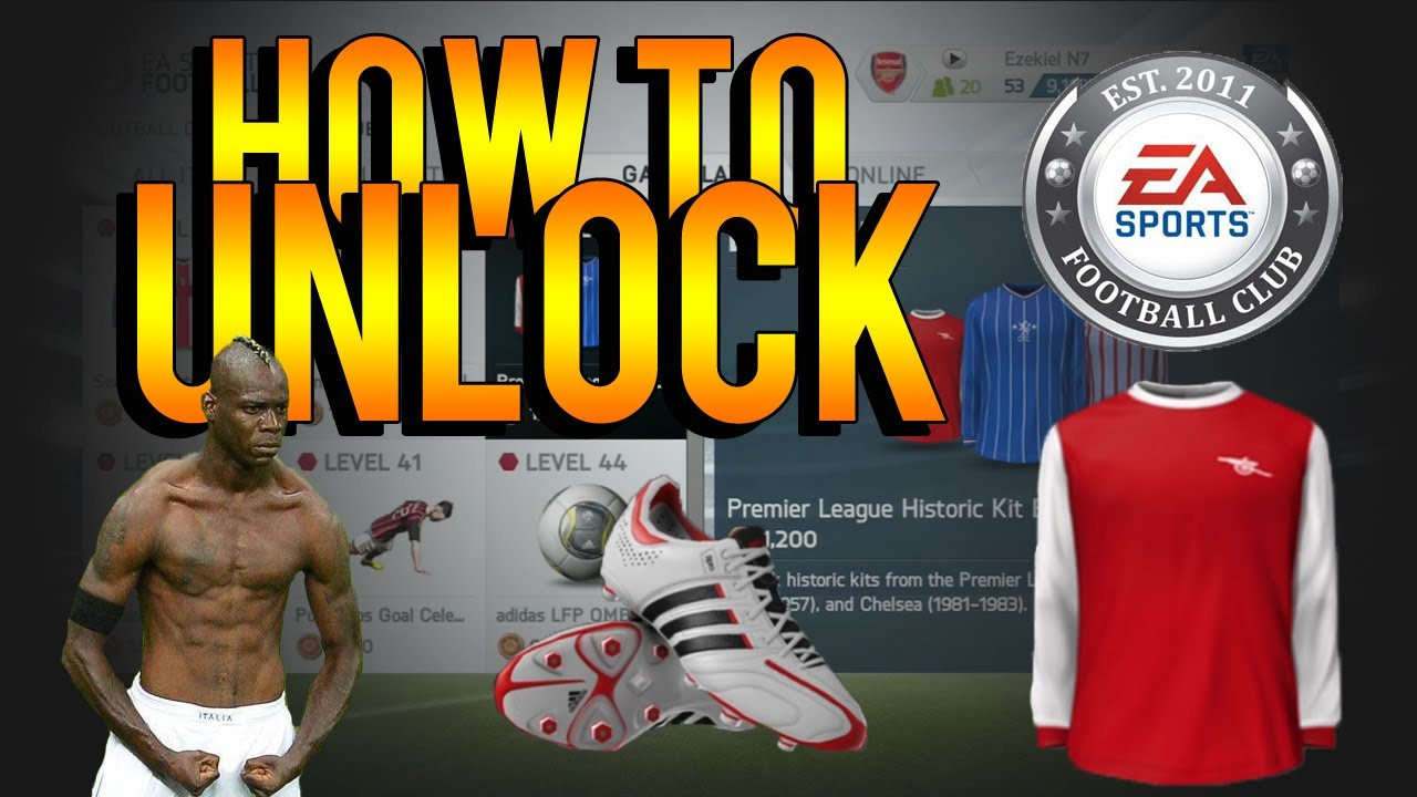 new arrival d9a50 e7a18 FIFA 14 Ultimate Team   How To Unlock Classic Kits, Celebrations, Boots,  Balls   Badges - YouTube