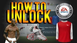 FIFA 14 Ultimate Team | How To Unlock Classic Kits, Celebrations, Boots, Balls & Badges